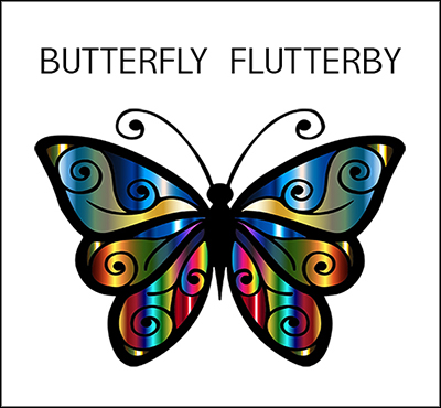 Butterfly Flutterby - Positive Thinking Network - Positive Thinking Doctor - David J. Abbott M.D.