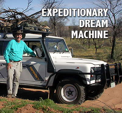 Expeditionary Dream Machine - Positive Thinking Network - Positive Thinking Doctor - David J. Abbott M.D.